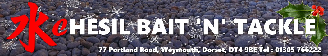 <h1>Chesil Bait n Tackle Online Store</h1>